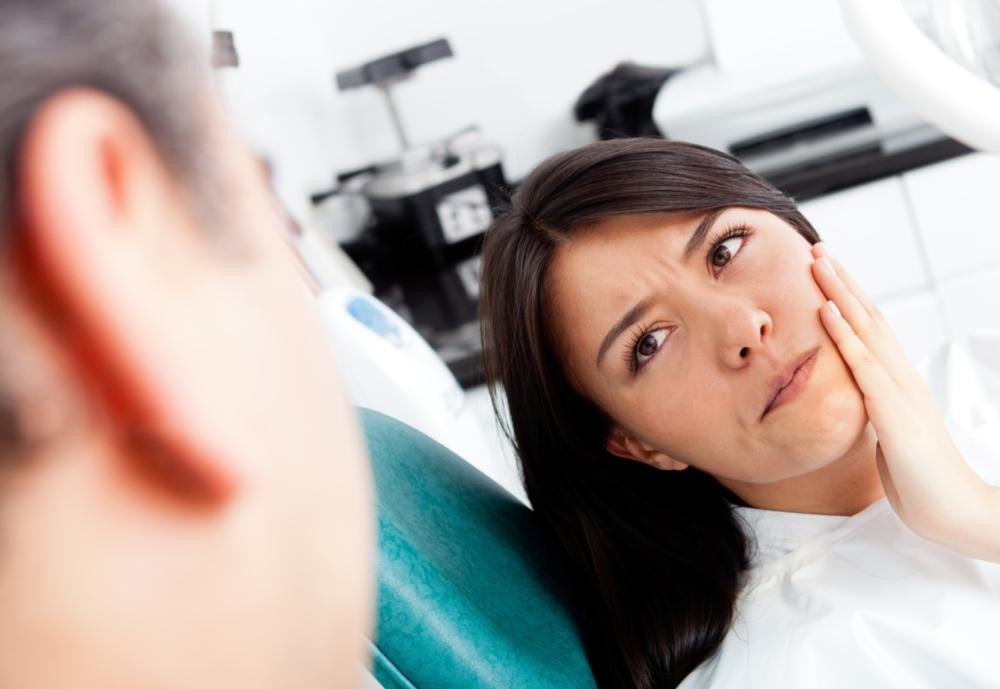 Woman at Dentist | Root Canals Brentwood TN