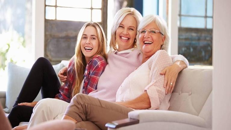 women smiling with dental implants in franklin tn